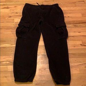 Supreme x Polartec cargo sweat pants